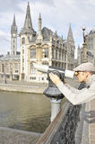 View of the city of Ghent Royalty Free Stock Photography