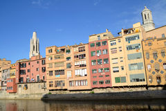 View of the City of Girona Royalty Free Stock Image