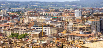 View on the city of Girona Stock Image