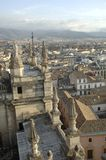 View of the city of Granada Stock Image