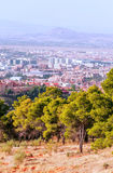 View of the city of Granada Stock Photography