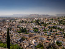 A view of the city of Granada, Spain Stock Photos
