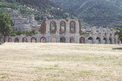 View of the city of Gubbio, Italy Royalty Free Stock Photo