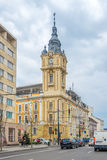 View at the City Hall of Cluj - Napoca in Romania Royalty Free Stock Image