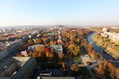 View from City Hall Ostrava. Royalty Free Stock Photography