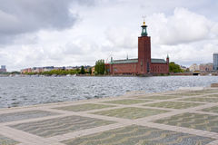 View on City Hall, Stockholm, Sweden Stock Images
