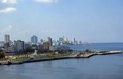 View of the city, Havana, Cuba Royalty Free Stock Photos