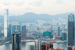 The view of city in Hongkong Royalty Free Stock Photography