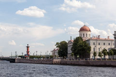 View on the city islands. St. Petersburg Stock Photography