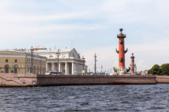 View on the city islands. St. Petersburg Royalty Free Stock Photo