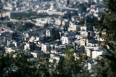 View of the city of Jerusalem Stock Photography