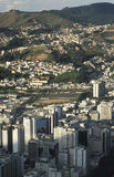 View of the city of Juiz de Fora, Minas Gerais, Brazil. Royalty Free Stock Photo