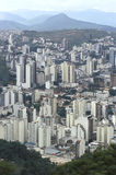 View of the city of Juiz de Fora, Minas Gerais, Brazil. Stock Image