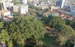 View of the city of Kampala Royalty Free Stock Photography