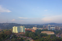 View of the city of Kampala Stock Photos