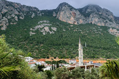 View of the city of Kas Stock Photo