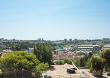 View of the city and Kastel. Pula. Croatia Stock Photography
