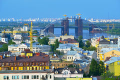 View of the city Kiev Royalty Free Stock Photos