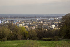 View of the city Kiev Royalty Free Stock Photography