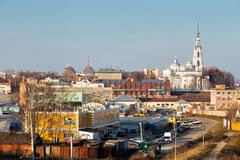 View of the city Kineshma, Russia Stock Image