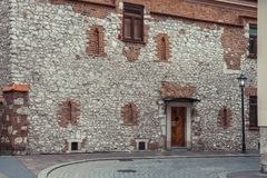View of the city of Krakow Royalty Free Stock Photos