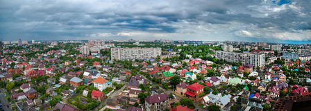 The view of the city of Krasnodar . Stock Photography