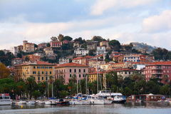 A view of the city of La Spezia,Italy Royalty Free Stock Photography
