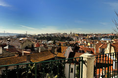 View City of Lisbon Royalty Free Stock Photography
