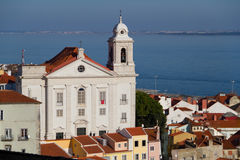 View on city Lisbon Royalty Free Stock Photography