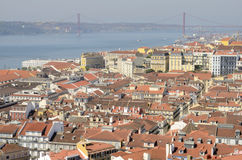 View of the city of Lisbon Stock Photo