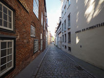 View of the city of Luebeck Royalty Free Stock Images
