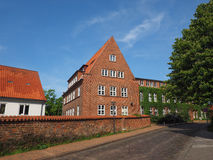 View of the city of Luebeck Royalty Free Stock Photos