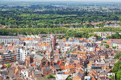 View of the city of Malines Stock Photography