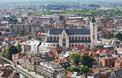 View of the city of Malines Stock Photo
