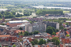 View of the city of Malines Stock Photos