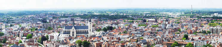 View of the city of Malines Royalty Free Stock Photo