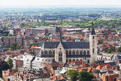 View of the city of Malines in Belgium Royalty Free Stock Images