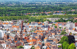 View of the city of Malines in Belgium Stock Photo
