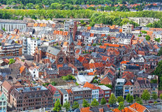 View of the city of Malines in Belgium Stock Images