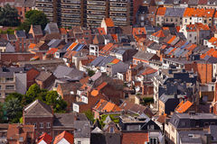 View of the city of Malines (Mechelen) Royalty Free Stock Image