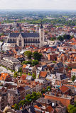 View of the city of Malines (Mechelen) Royalty Free Stock Photography