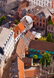 View of the city of Malines (Mechelen) Royalty Free Stock Photo