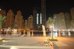 View of city marina Stock Image