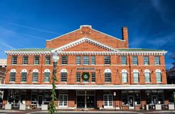 View of the City Market Building in Roanoke, Virginia, USA Stock Photography