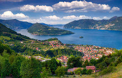 View of the city Marone, a bright sunny day Stock Image