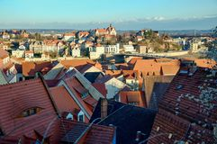 View of the city of meissen Royalty Free Stock Photo
