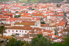 View on city Montemor-o-Novo Royalty Free Stock Photos