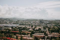 View of the city royalty free stock photos