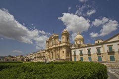 View of the city of Noto Royalty Free Stock Images