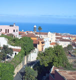 View Of the city of Orotava Royalty Free Stock Image
